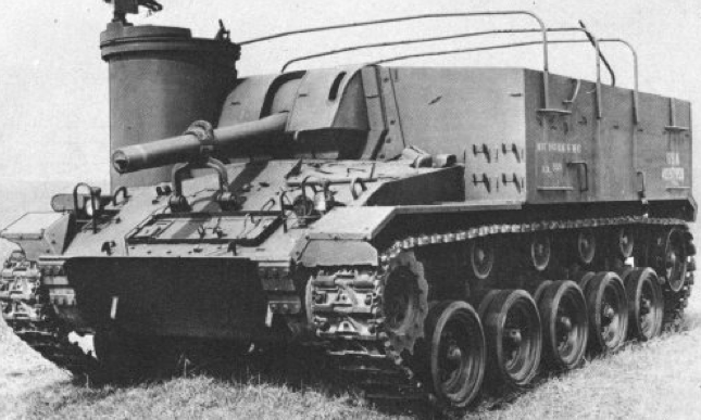 САУ 105-mm Howitzer Motor Carriage M-37