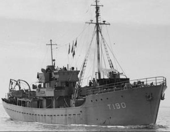 Cторожевой корабль «Prong»