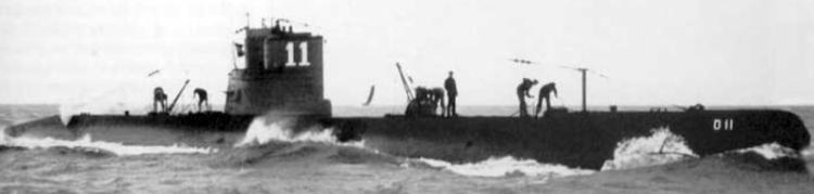 Подводная лодка «O-11»