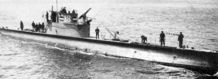 Подводная лодка «О-13»
