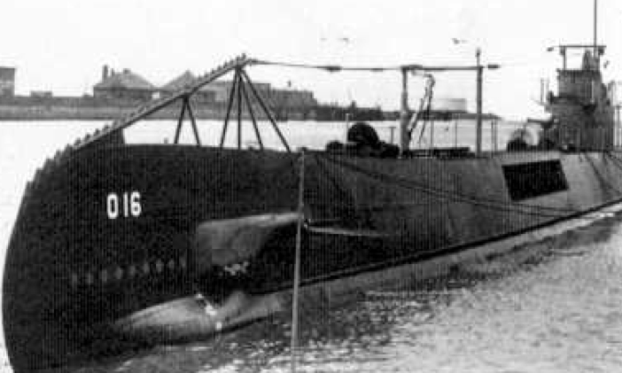 Подводная лодка «О-16»