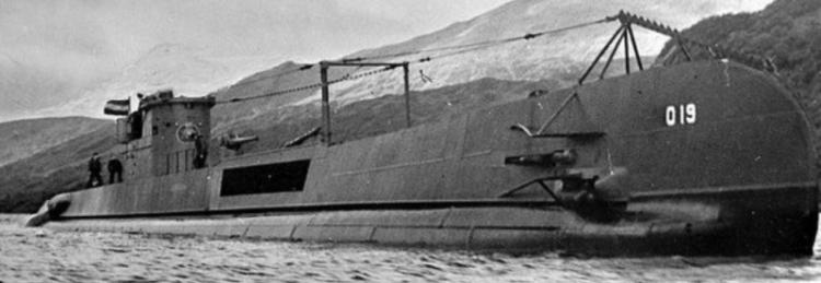 Подводная лодка «O-19»