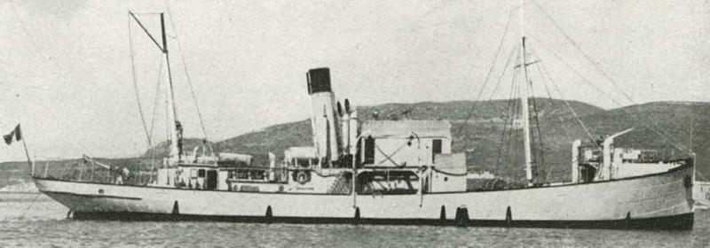 Корабль береговой обороны «Mario Sonzini»