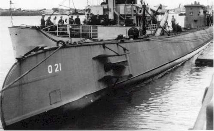 Подводная лодка «О-21»