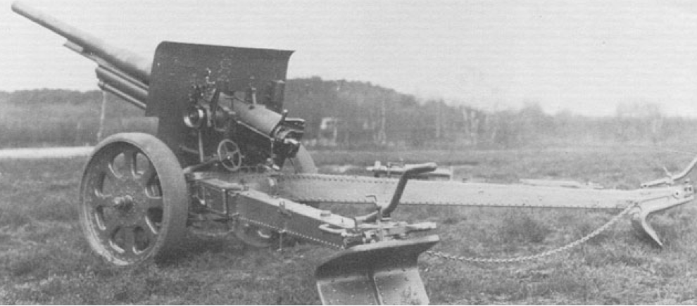 105-мм полевая пушка  10-veld