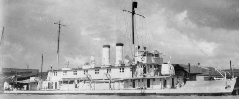Канонерская лодка «Hozu»
