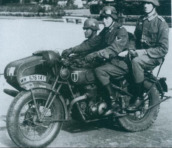 Мотоцикл Gillet Herstal 720 AB