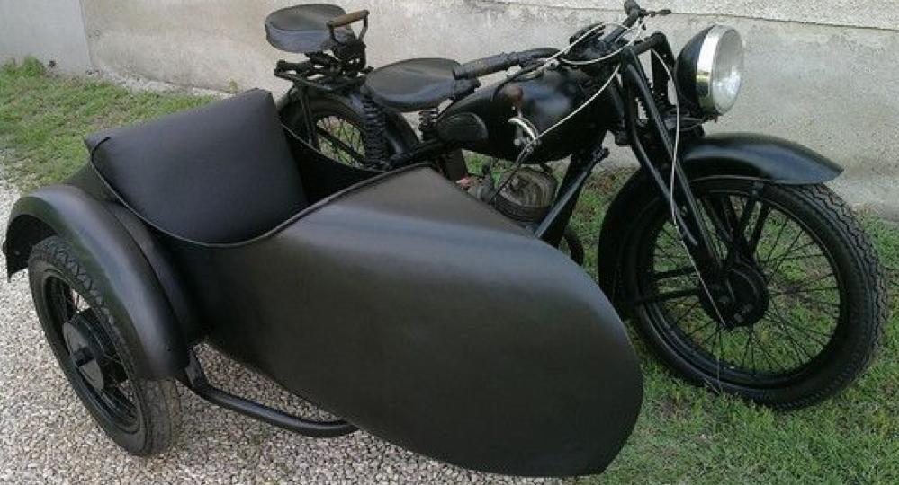 Мотоцикл DKW KM-200 с коляской