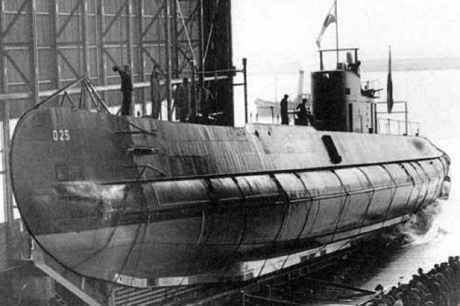 Подводная лодка «O-25»
