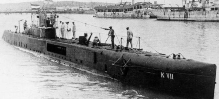Подводная лодка «K-VII»