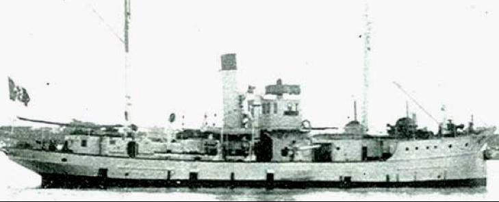 Корабль береговой обороны «Callipoli» (G31)