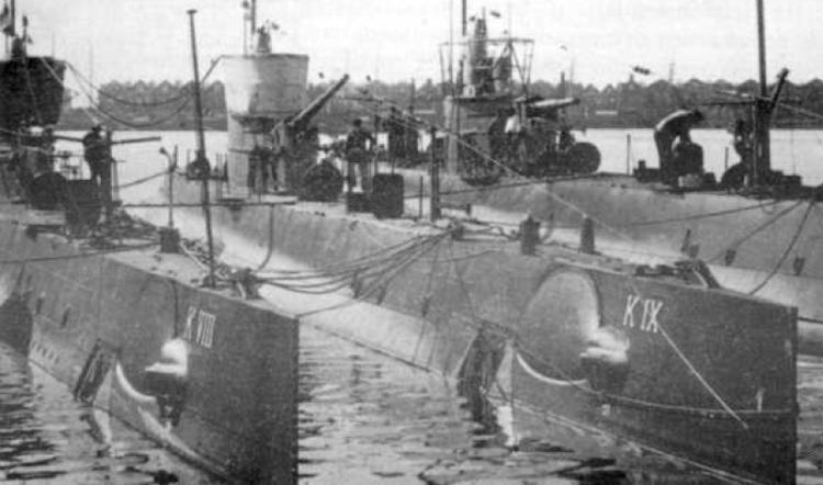 Подводные лодки «К-VIII» и «K-IX»