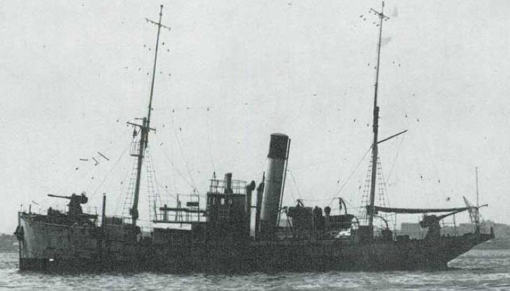 Корабль береговой обороны «Otranto» (G-36)