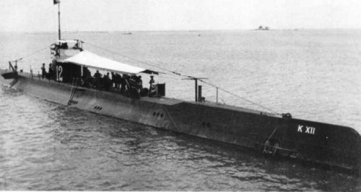 Подводная лодка «K-XII»