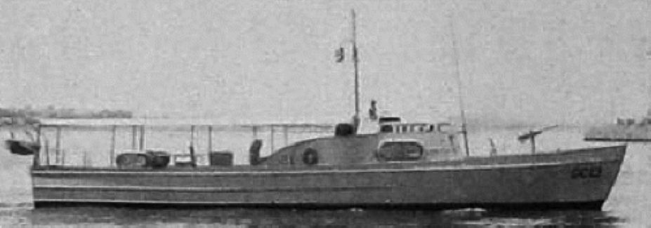 Охотник типа  «CS -11» (CG-83316)