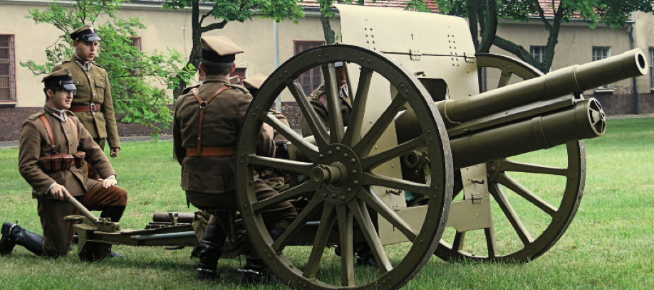 Полевая пушка Armata polowa 75-mm wz. 02/26