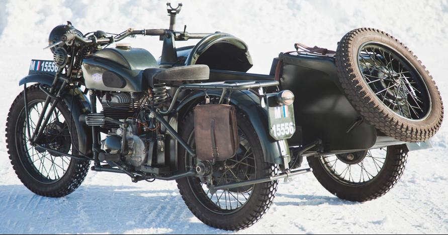 Мотоцикл Gillet Herstal 720 AF