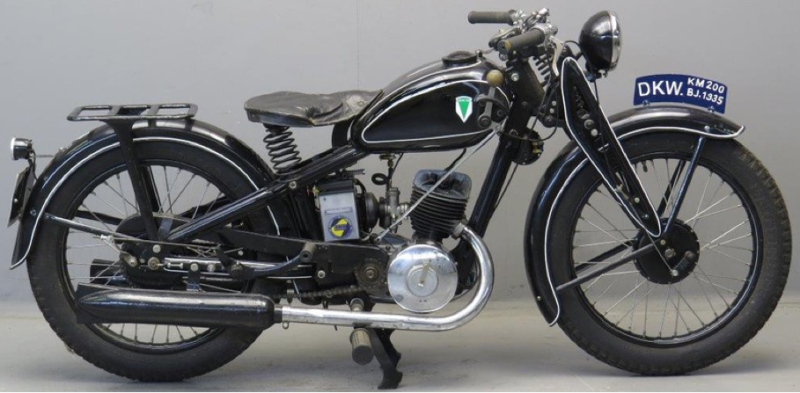 Мотоцикл DKW KM-200