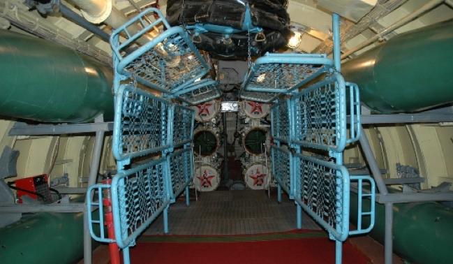 Торпедный отсек лодки «К-21»
