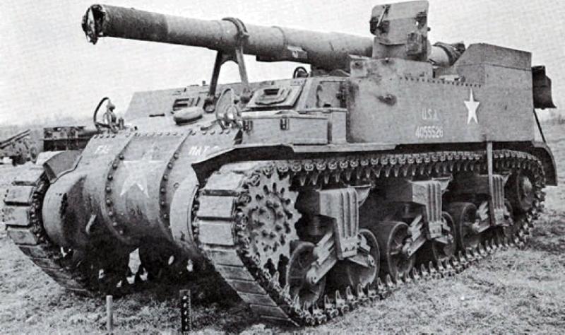 САУ 155-mm Gun Motor Carriage M-12 (King Kong)