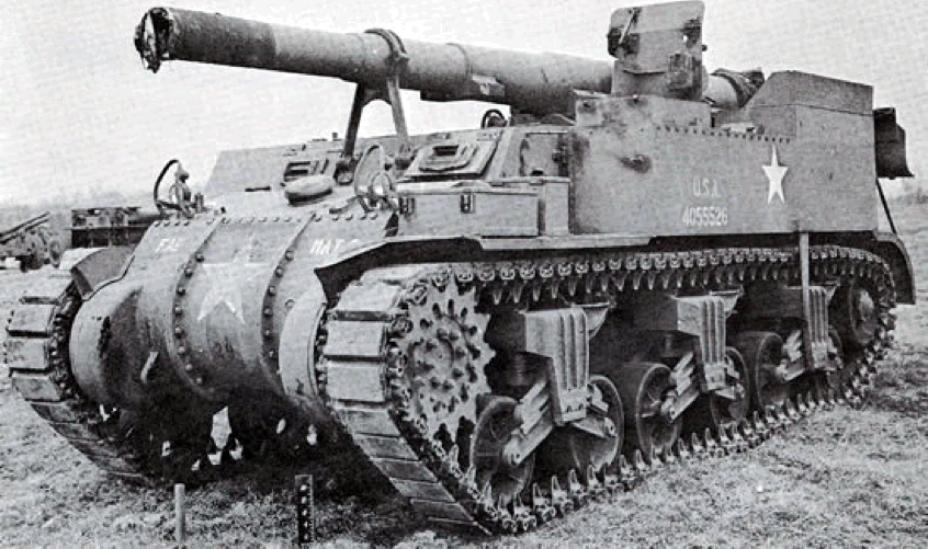 САУ 155-mm Gun Motor Carriage M-12 (King Kong)