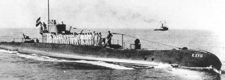 Подводная лодка «K-XVIII»