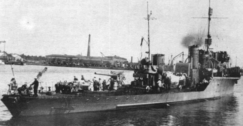 Сторожевой корабль «Шквал»