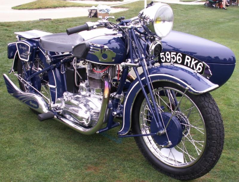 Мотоцикл Peugeot 515-SP с коляской