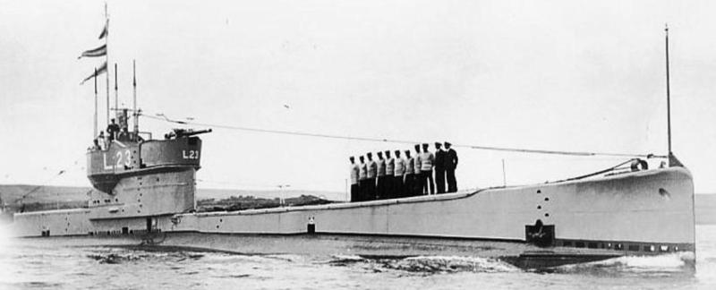 Подводная лодка «L-23»