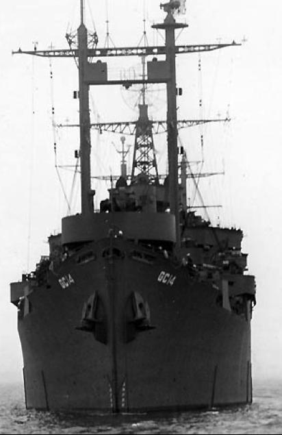 Штабной корабль «Teton» (AGC-14)