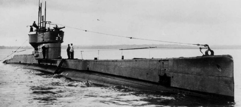 Подводная лодка«L-27»