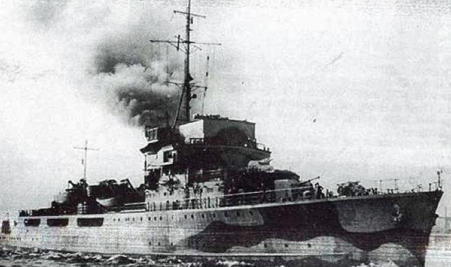 Канонерская лодка «К-4» (Lorelei)