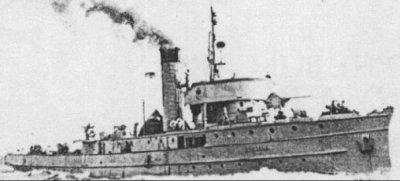 Канонерская лодка «Karjala»