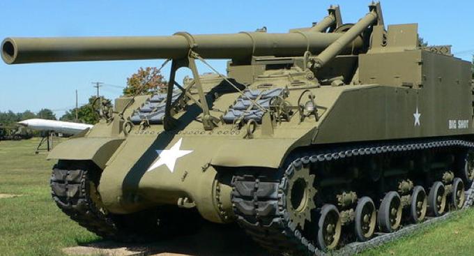САУ 155-mm Gun Motor Carriage M-40 Long Tom