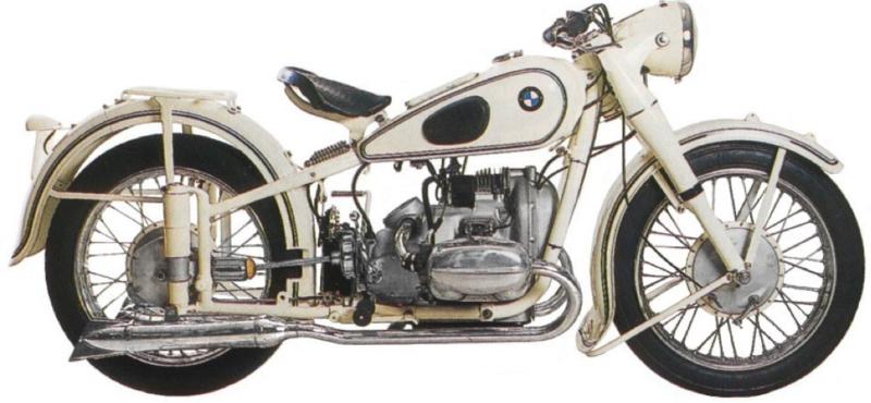 Мотоцикл BMW R-51