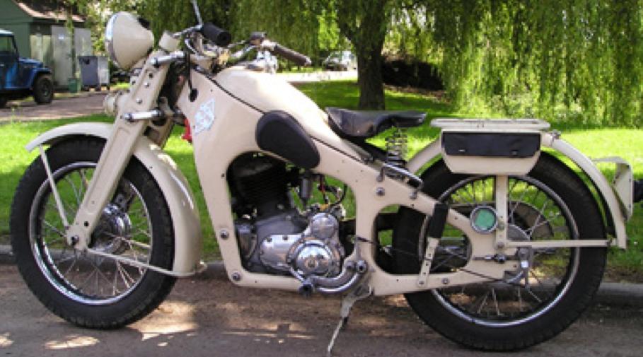 Мотоцикл Gnome-Rhone D-5A
