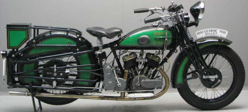 Мотоцикл Renе Gillet 1000 соло