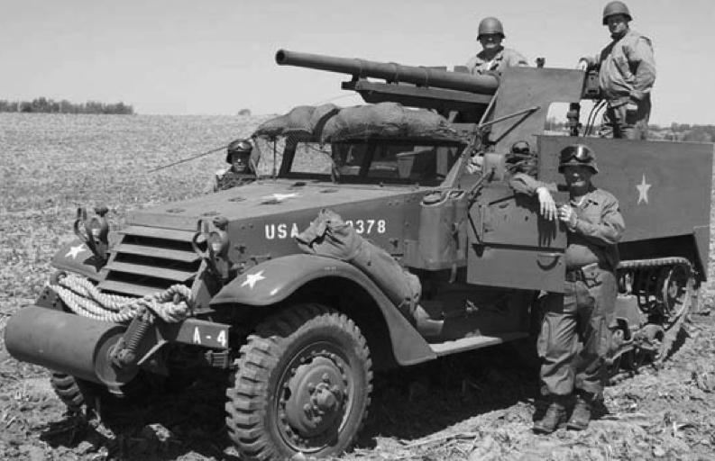 САУ 75-mm Gun Motor Carriage M-3