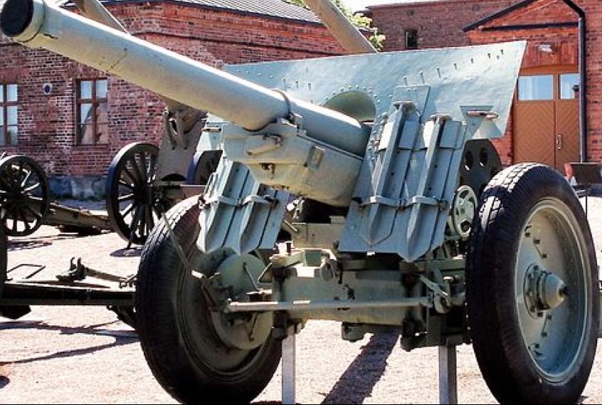 Пушка  105-mm wz. 29 Schneider