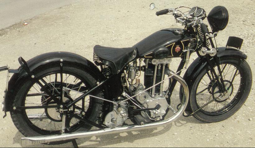 Мотоцикл Sarolea 500 24-U