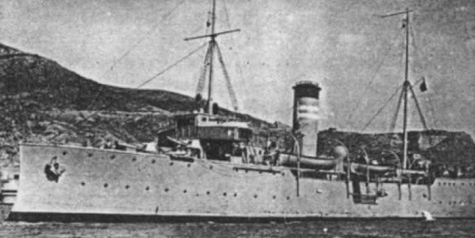 Канонерская лодка «Dato»