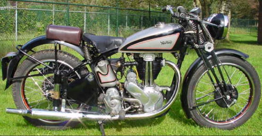 Мотоцикл Norton ES-2