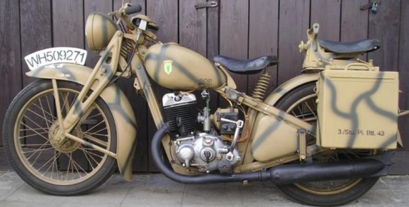 Мотоцикл DKW SB-350
