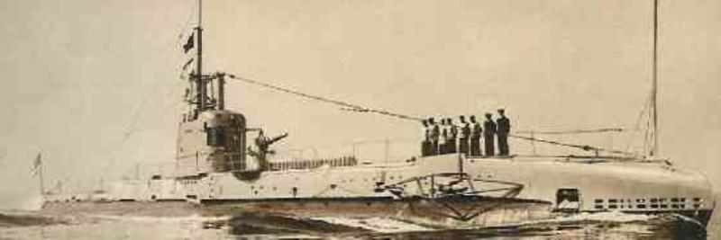 Подводная лодка «Swordfich»