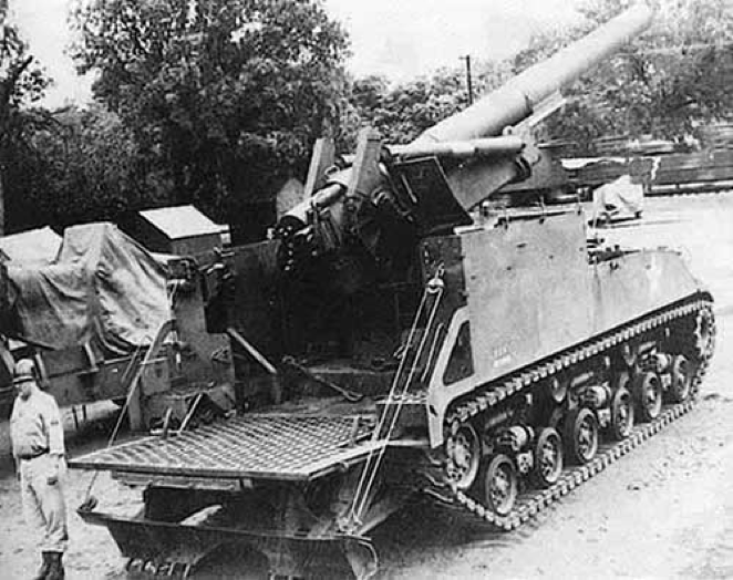 САУ 8 inch Howitzer Motor Carriage M-43