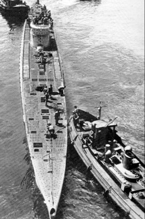 Подводная лодка «U-167»