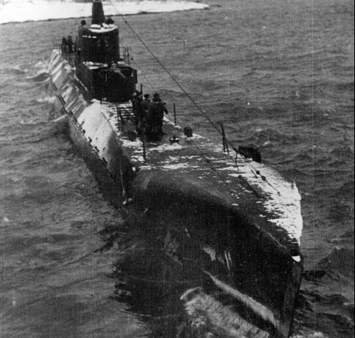 Подводная лодка «К-55»