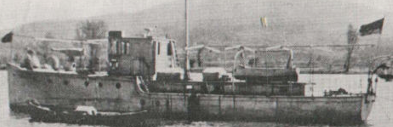 Канонерская лодка «Cabo Fradera»