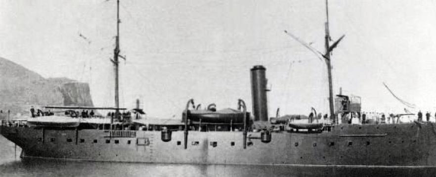 Канонерская лодка «Sebastiano Caboto»