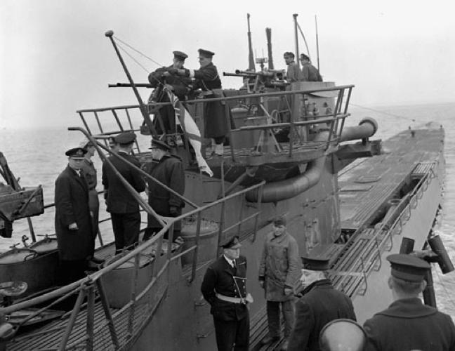 Подводная лодка «U-889»